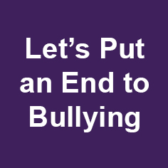 Let's End Bullying